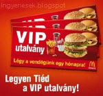 McDonald's utalvány