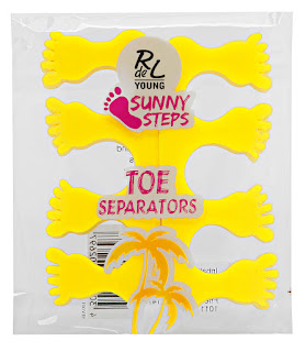 "RdeL Young ""Sunny Steps"" Toe Separators - www.annitschkasblog.de"