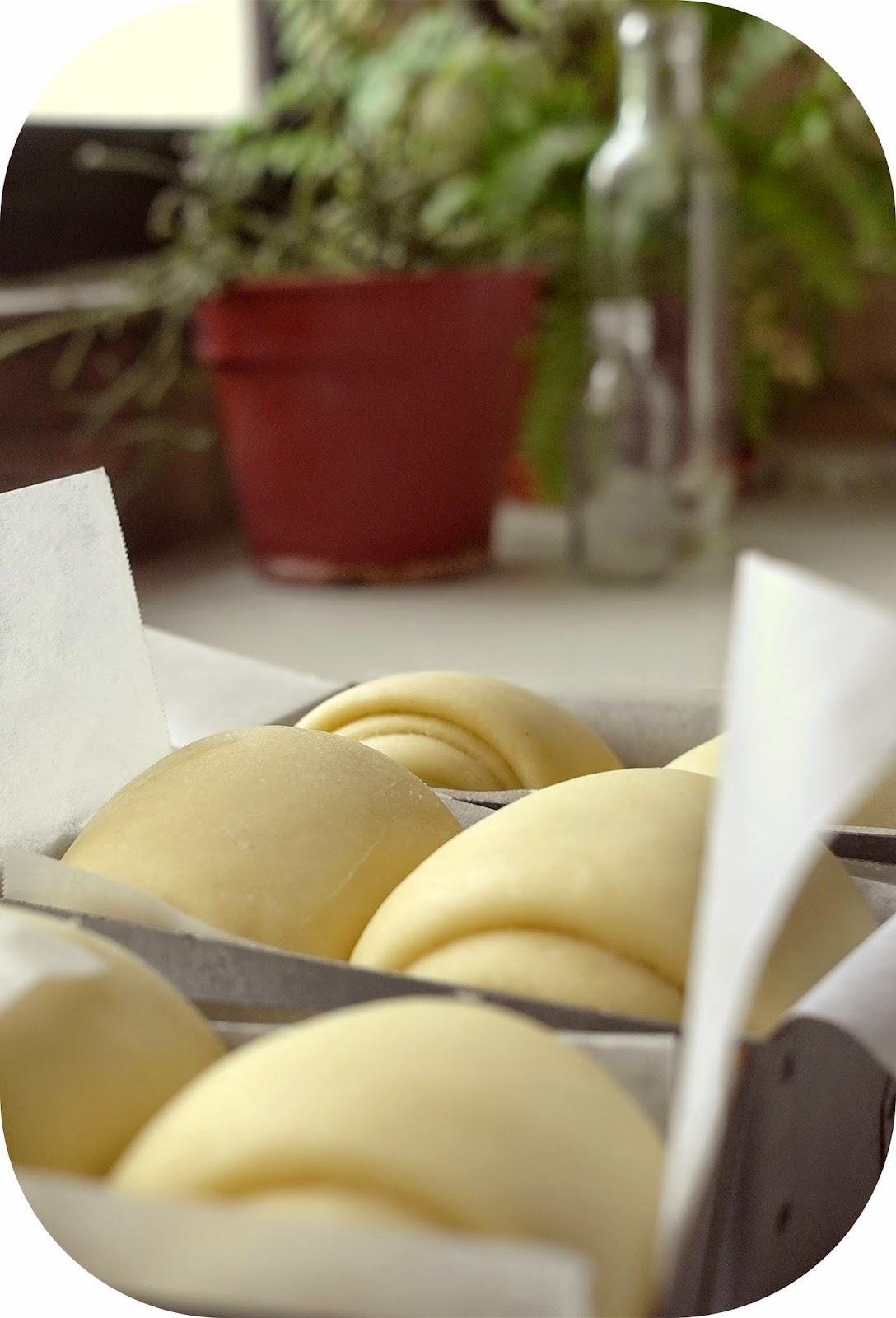 hokkaido milk bread with vanilla condensed milk