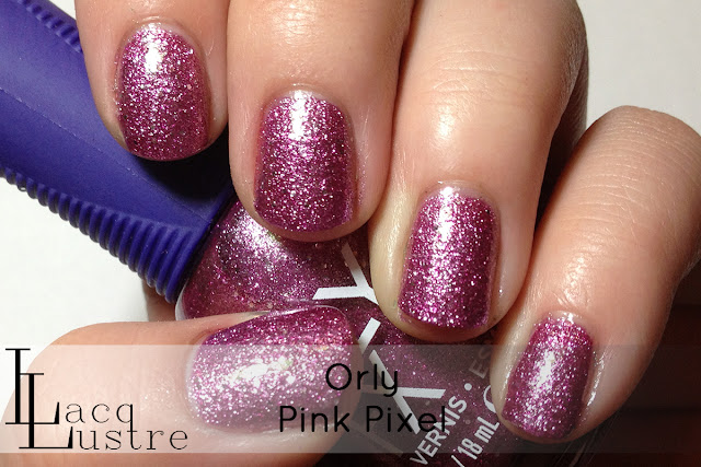 Orly Pink Pixel swatch