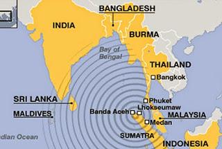 Earthquake warning Sri Lanka