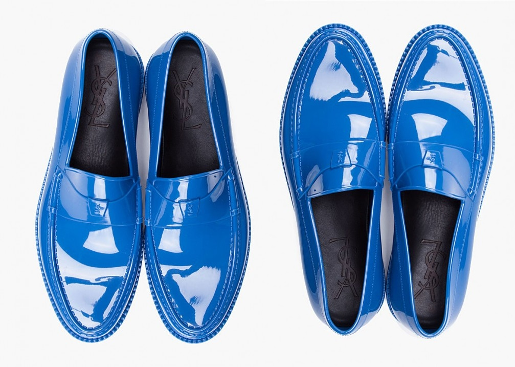 Shoe of the Day - YSL Rubber Shoes