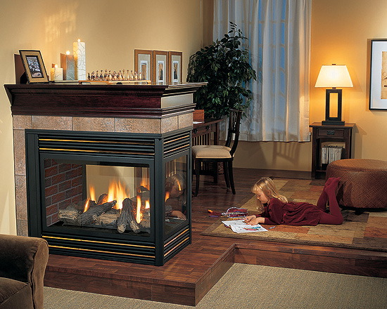 6 tips making your own room divider for 2 way fireplace