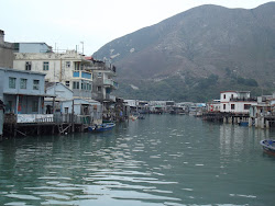 The famous stilt houses of Tai O.