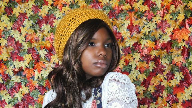 DIY: Free Crochet Pattern // The Golden Beret.
