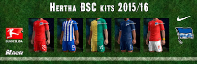 PES 2013 Hertha BSC 2015/16 Kits by Nach