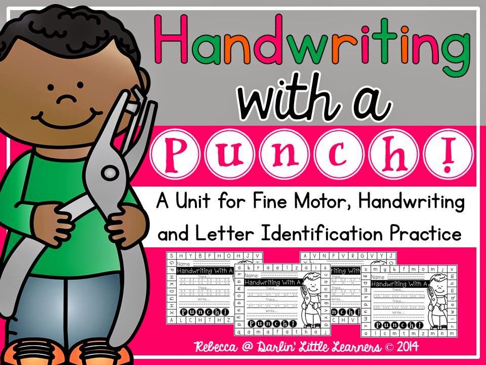 https://www.teacherspayteachers.com/Product/Handwriting-With-A-Punch-1598903