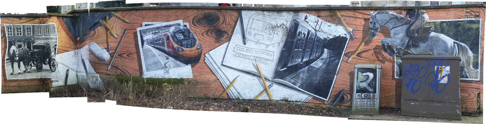 Kelvingrove Mural, Glasgow