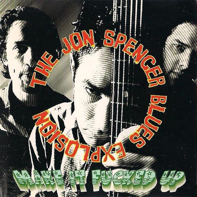 Music Art Vcl The Jon Spencer Blues Explosion Live At Shinjyuku Liquid Room Tokyo 01 22 1997
