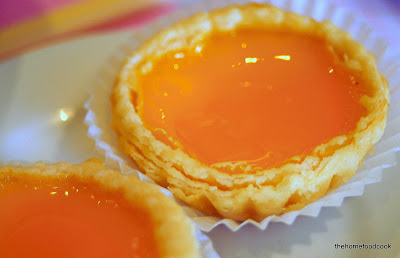 thehomefoodcook - dim sum - egg tarts