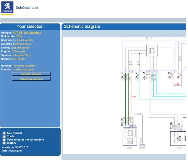 citroen c3 bsi wiring diagram