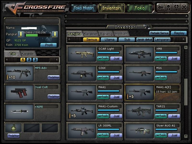 Hack Senjata Kapsul Permanent