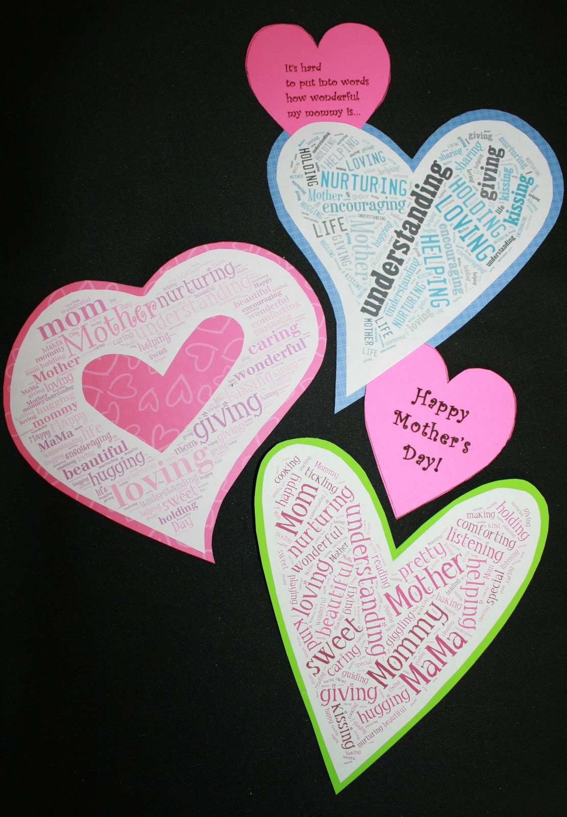 mother u0026 39 s day word art tech-craftivity