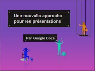 Google Docs pour Android - nouveau départ pour les présentations