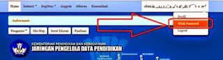 Cara Ganti Password Akun Admin Verval PD