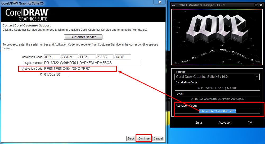 Download Corel Products Keygen Core X6 - ecopriority