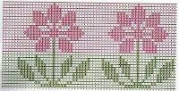 Gráficos para bordados de ponto oitinho parte 3