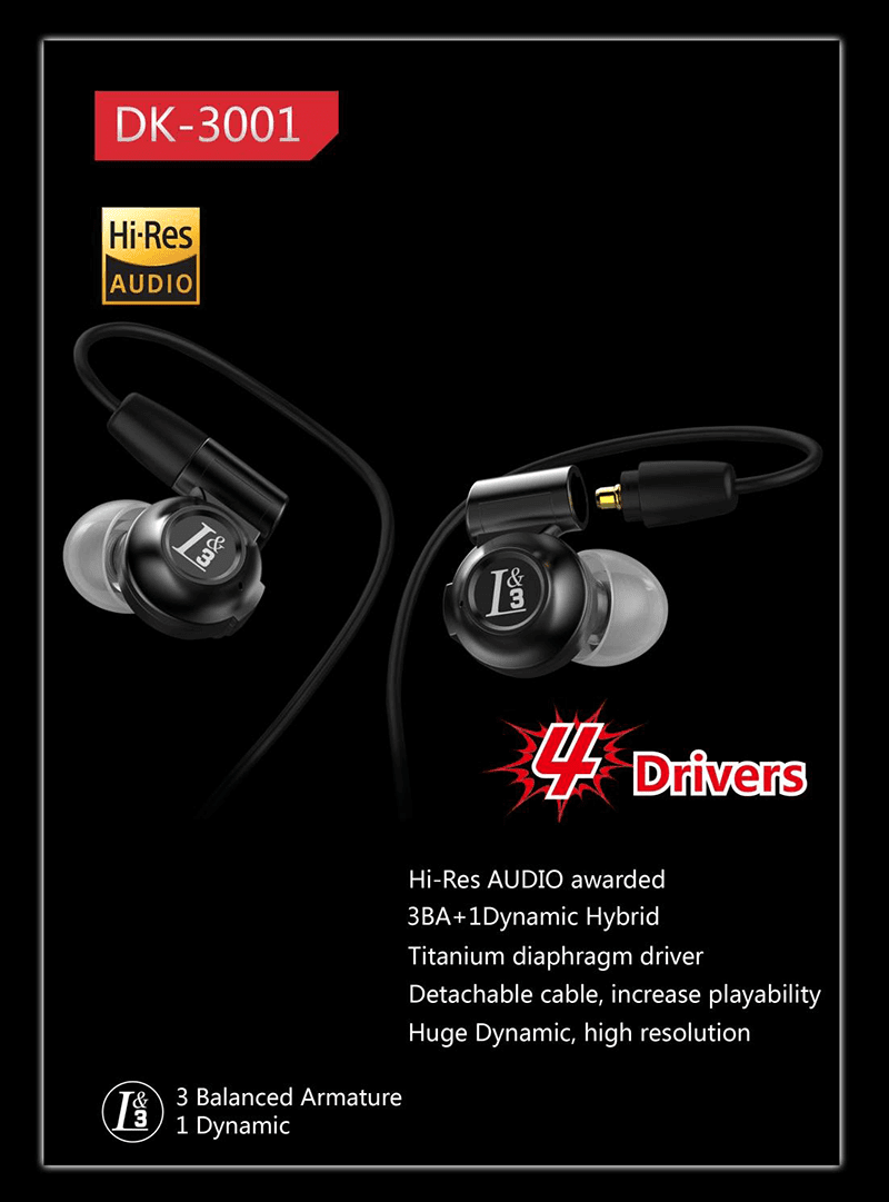 THE HI-RES CERTIFIED DUNU DK-4001 5 DRIVERS AND DK-3001 QUAD DRIVER IEMS ANNOUNCED!