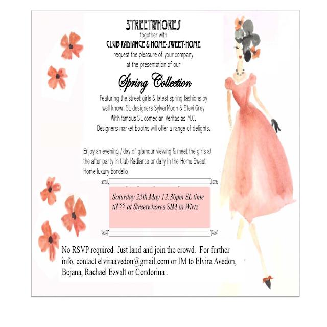 Fashion Show Program Sample