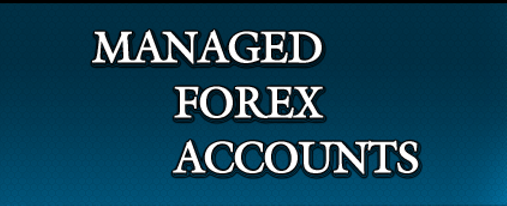 Australian managed forex accounts