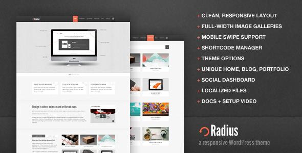Radius-Responsive-WordPress-Template