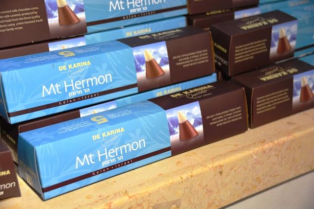 פרלין הר חרמון Mt. hermon bonbon