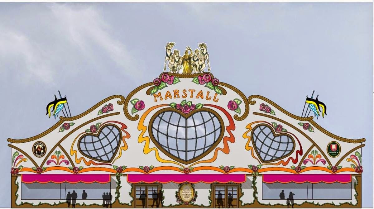 Oktoberfest 2014 : Thursday 25 September Program Marstall tent
