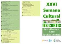 XXVI SEMANA CULTURAL  NO IES DE CURTIS