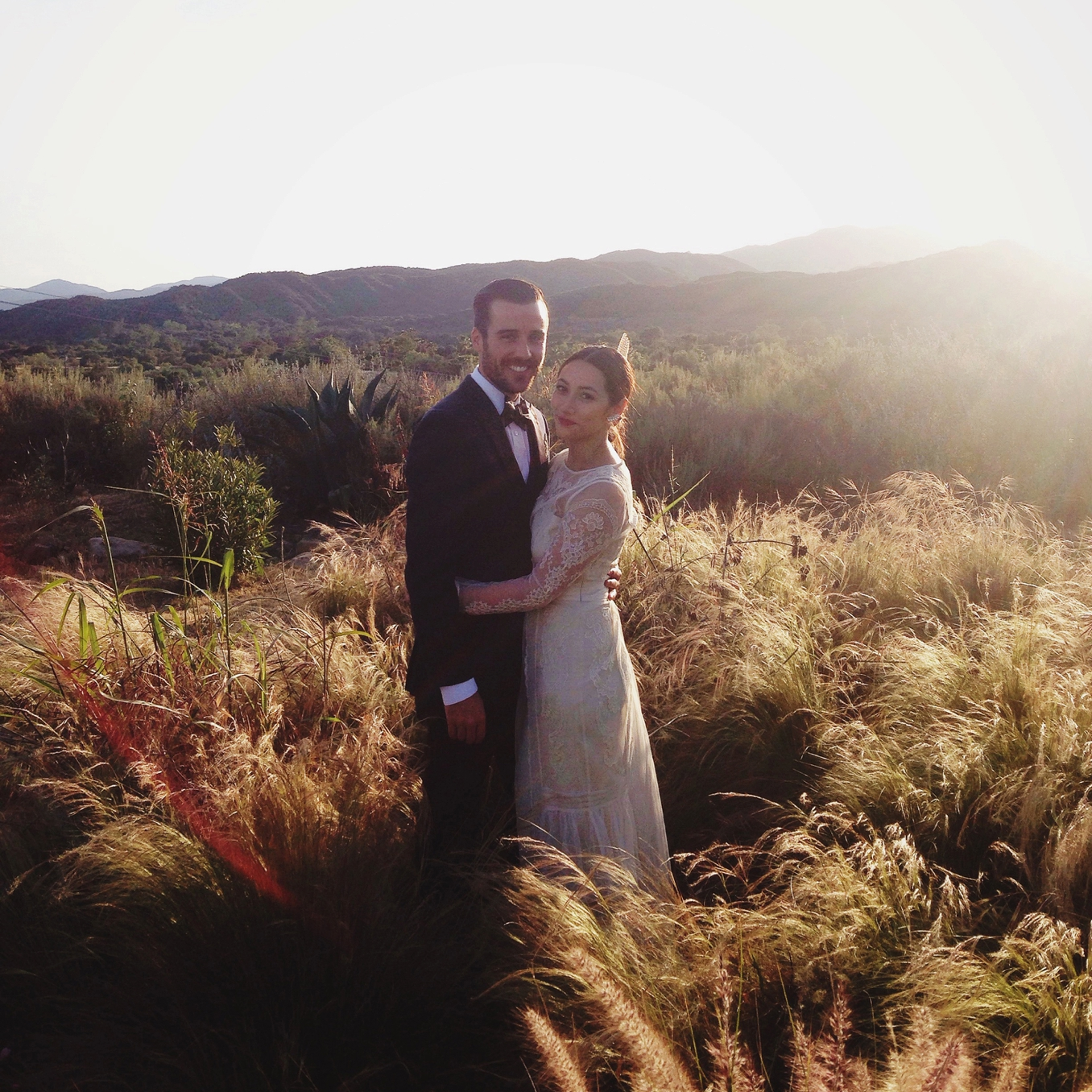 Tessa and Andy's gorgeous Ojai wedding photo by STUDIO 1208