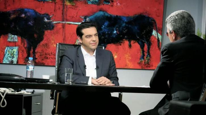 """Η συνέντευξη του Αλέξη Τσίπρα """"στον ενικό"""" «Ο λαός θα δώσει την ιστορική ευκαιρία στην Αριστερά»"""