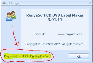 Download RonyaSoft CD DVD Label Maker 3.2.20 for free