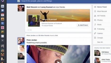 Découvrez le nouveau design de Facebook (vidéo)