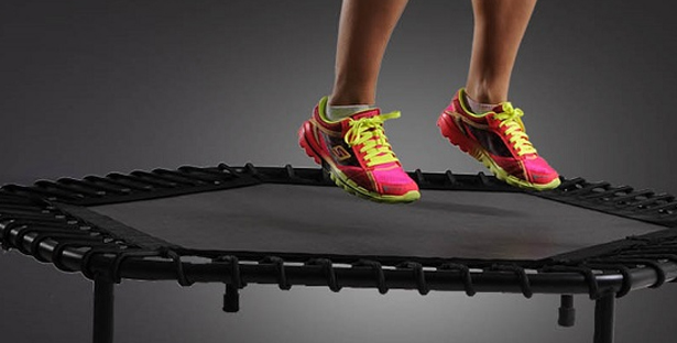 Trampoline Fitness: Jump up and get down! Good mood included?