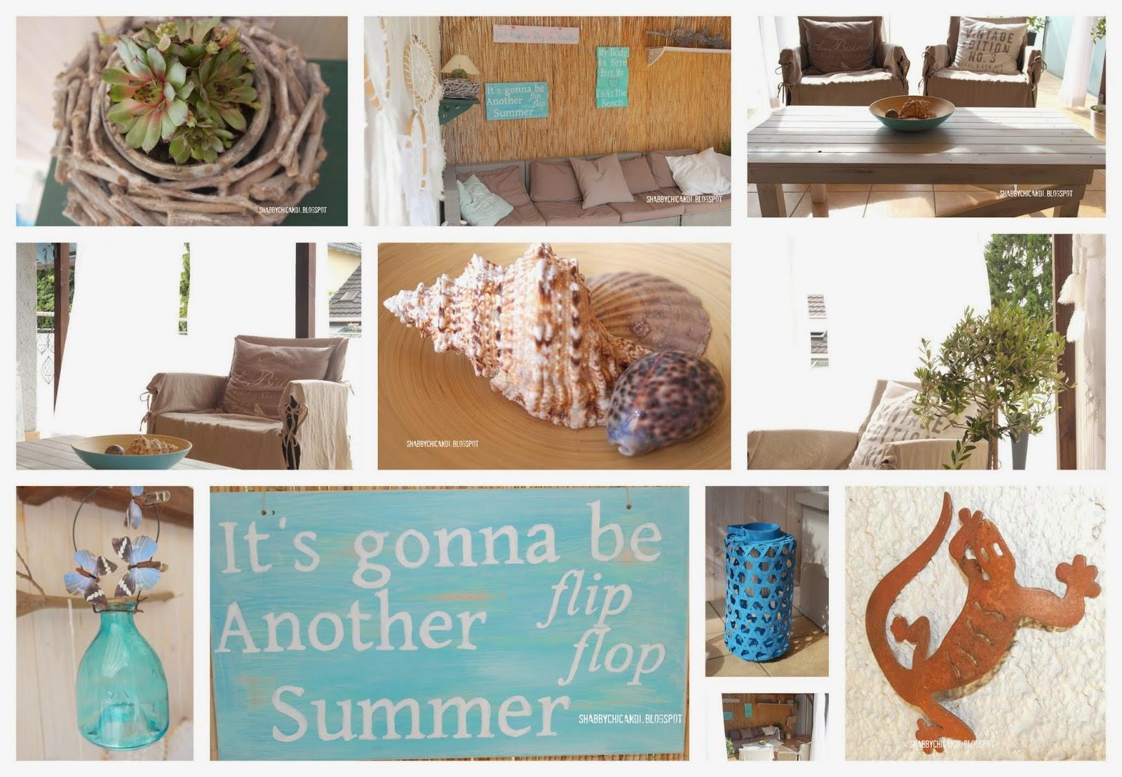 shabby chic and i shabby chic diy und deko beach cottage ein blick auf meine terrasse. Black Bedroom Furniture Sets. Home Design Ideas