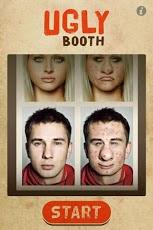 UglyBooth aplicación para afear el rostro
