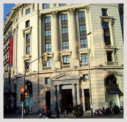 Testa vende el edificio del paseo de gracia 56 a amancio for Oficinas inditex barcelona