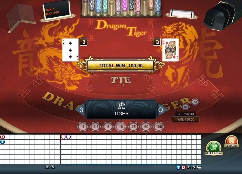 casino tiger dragon