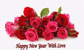 Happy New Year 2015 Roses HD Cards - Free Download