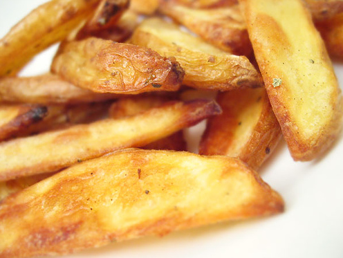 Honey & Butter: Oven Baked French Fries that taste Deep Fried!
