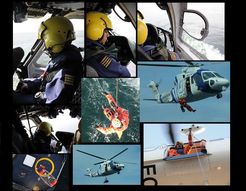 """Todos los """"puntos de vista"""" de un Helicóptero SAR"""