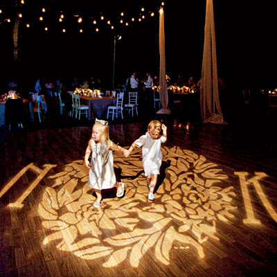 Wedding Lighting Gobos Unique Wedding Ideas And Collections