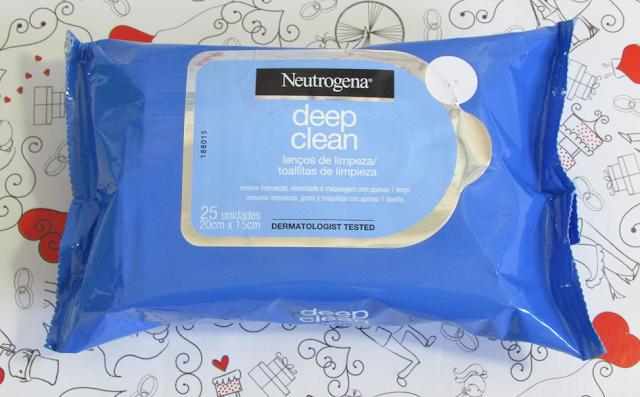 Resenha, Lenços de Limpeza, Deep Clean, Neutrogena