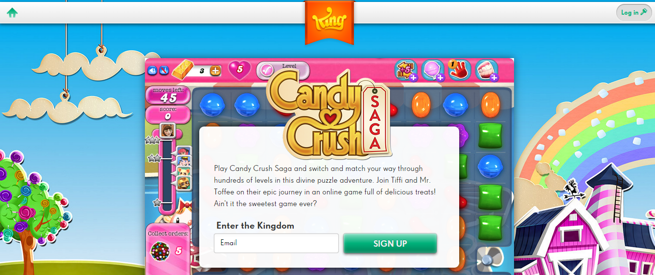 candy crush free online