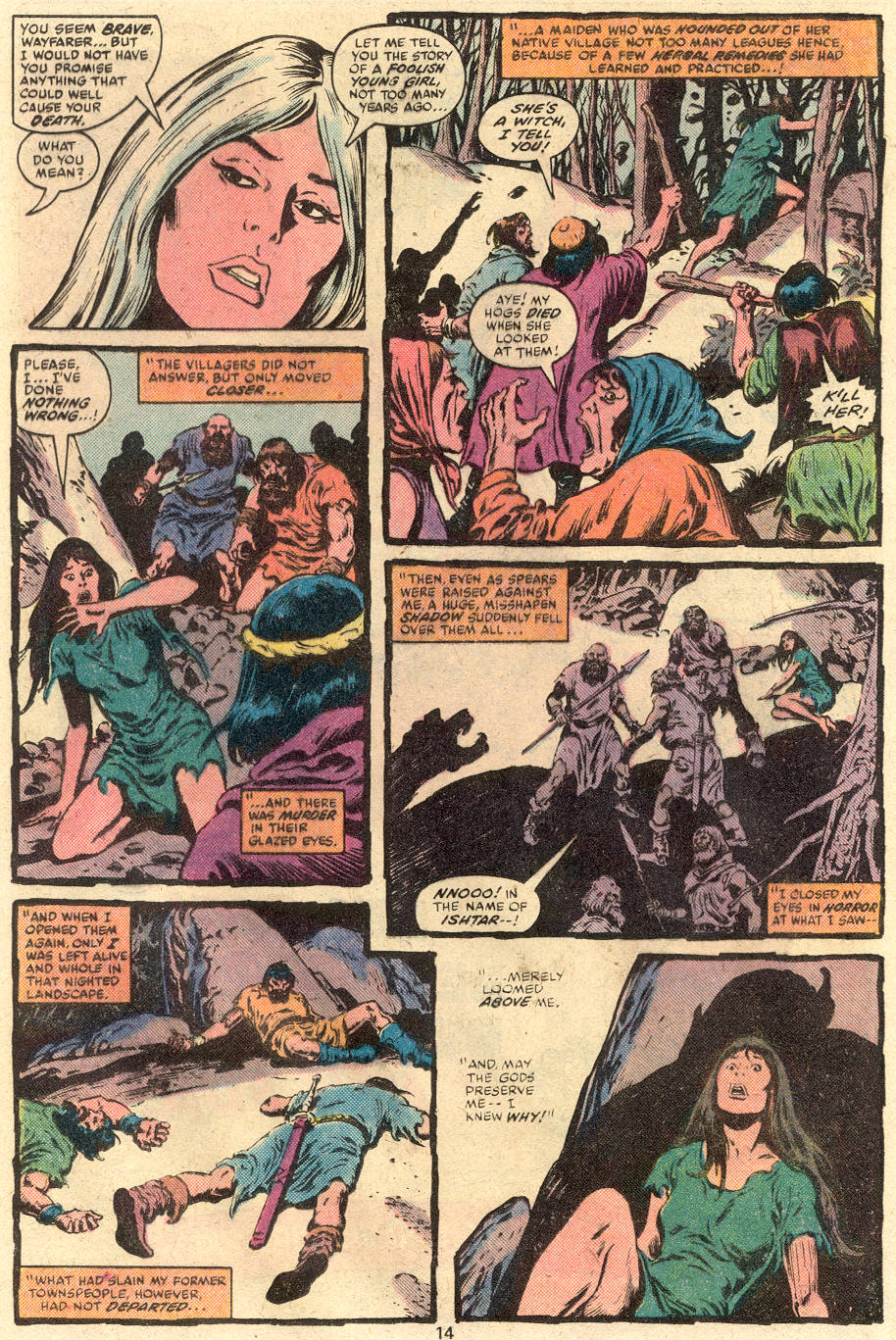 Conan the Barbarian (1970) Issue #113 #125 - English 9