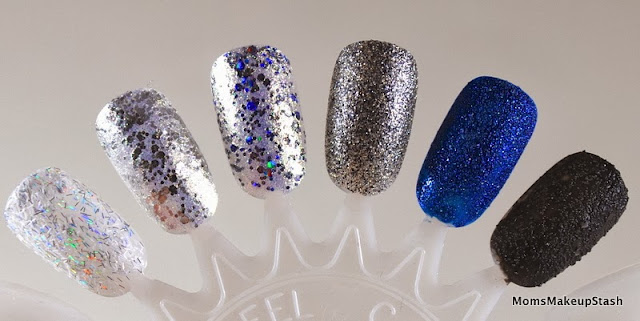 Essie Nail Polish, Essie Encrusted Treasures, Essie Swatches, Essie Holiday 2013 Swatches