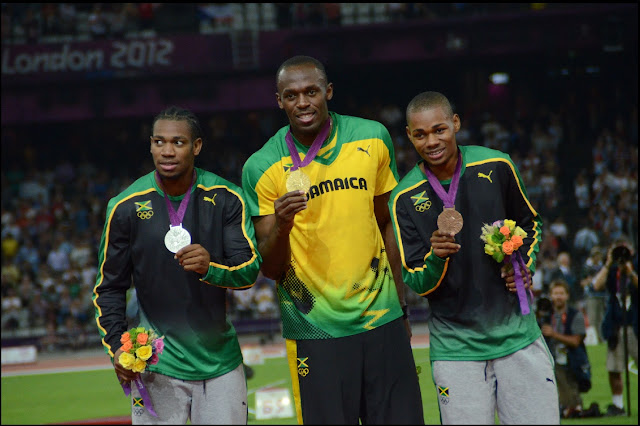 Usain Bolt 2012 Olympics Biography Records 100m 200m News Gold Medals History Images/Videos