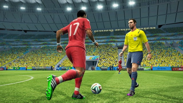 PES 2013 New Referee Kits FIFA World Cup 2014 by 02David20