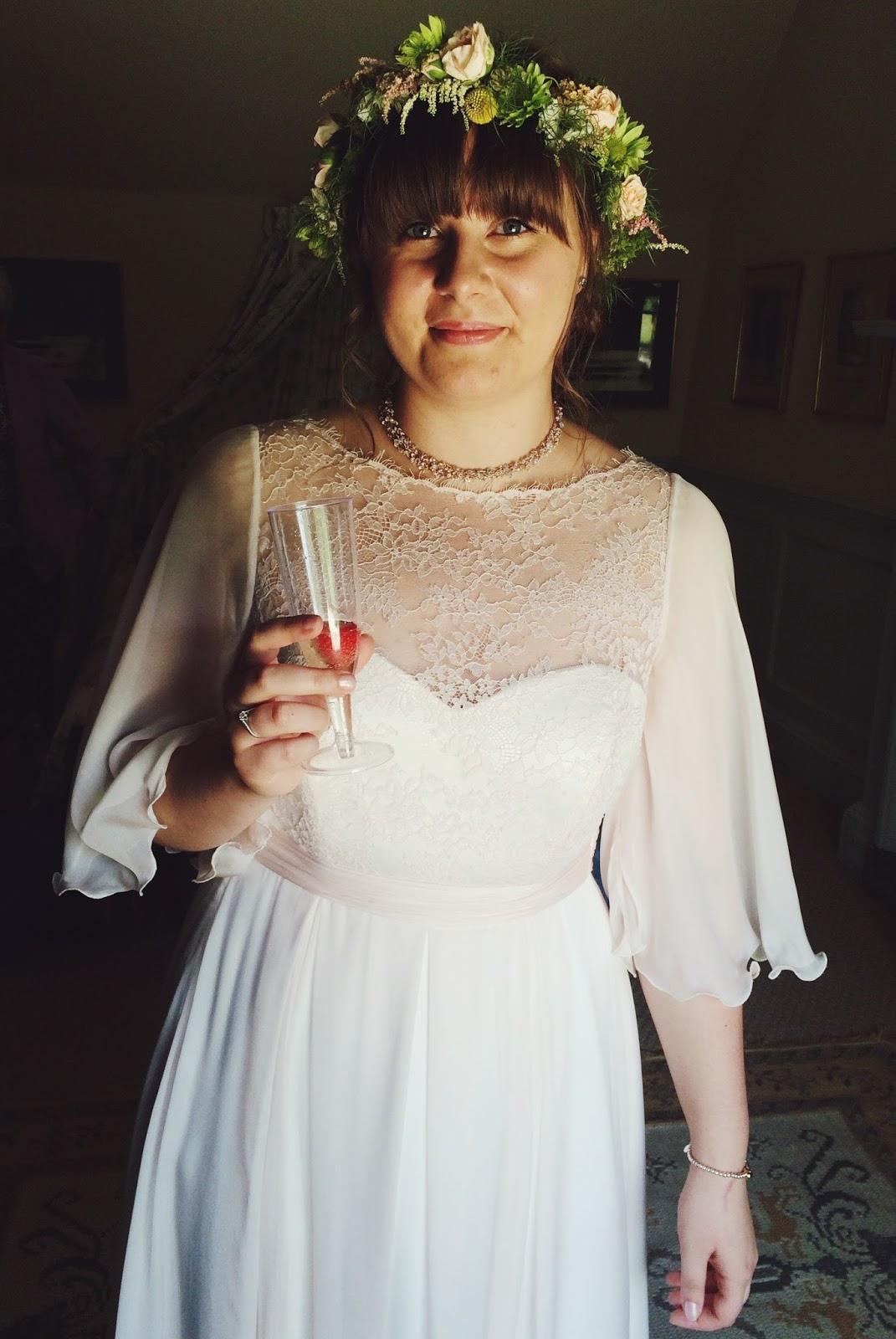 Wedding dress - Combe Manor wedding
