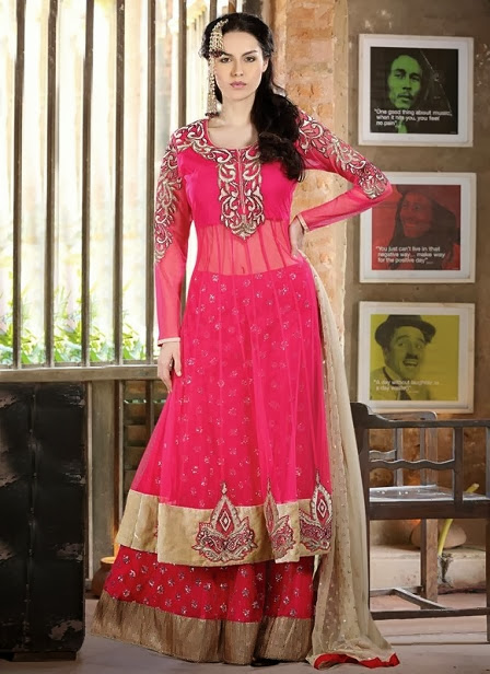 Girls Hot New Lehnga Choli Dresses Collection 2013-14 Specially For Brides