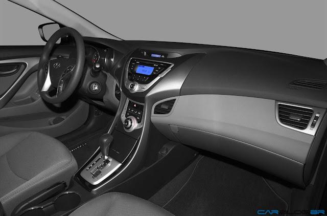 Hyundai Elantra GLS 2013 - painel